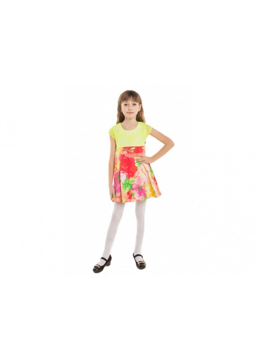 Платье Радость, салатовый
