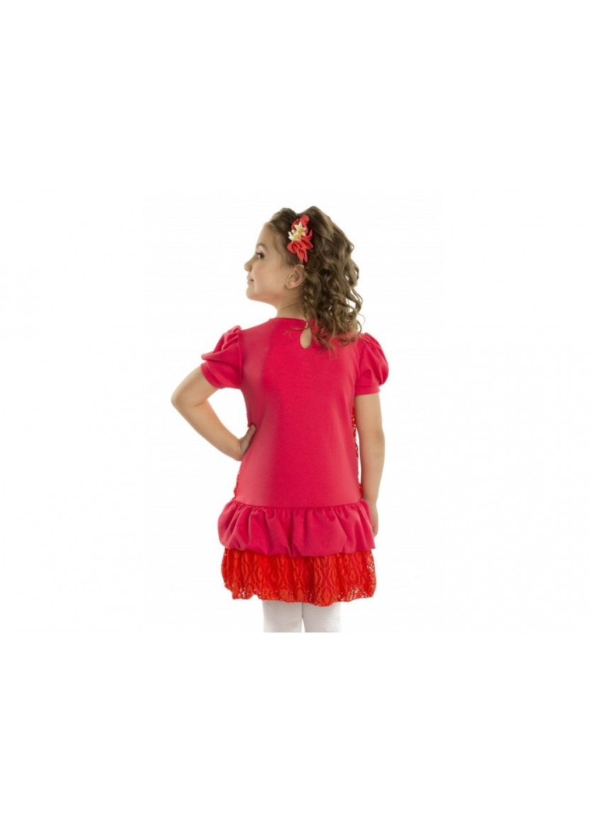 Платье Эмма, кораловый
