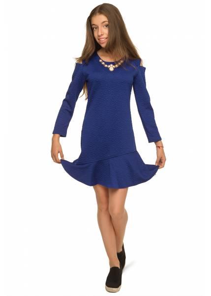 Платье Розалия, синий