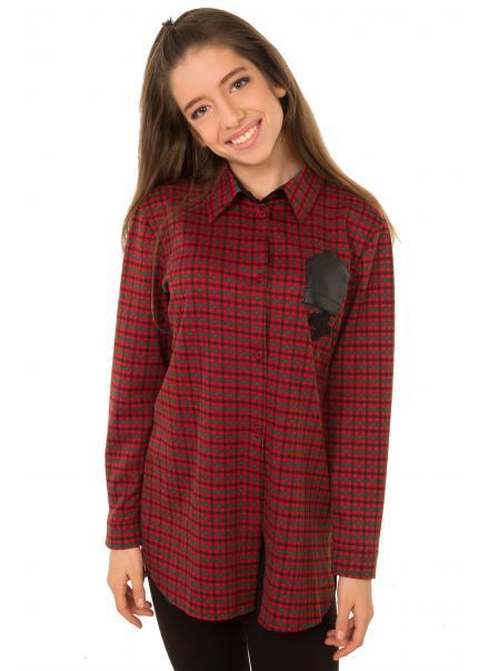 Рубашка Элли, красный