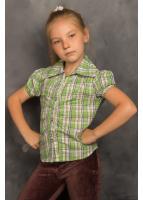 Рубашка Кантри, зеленый