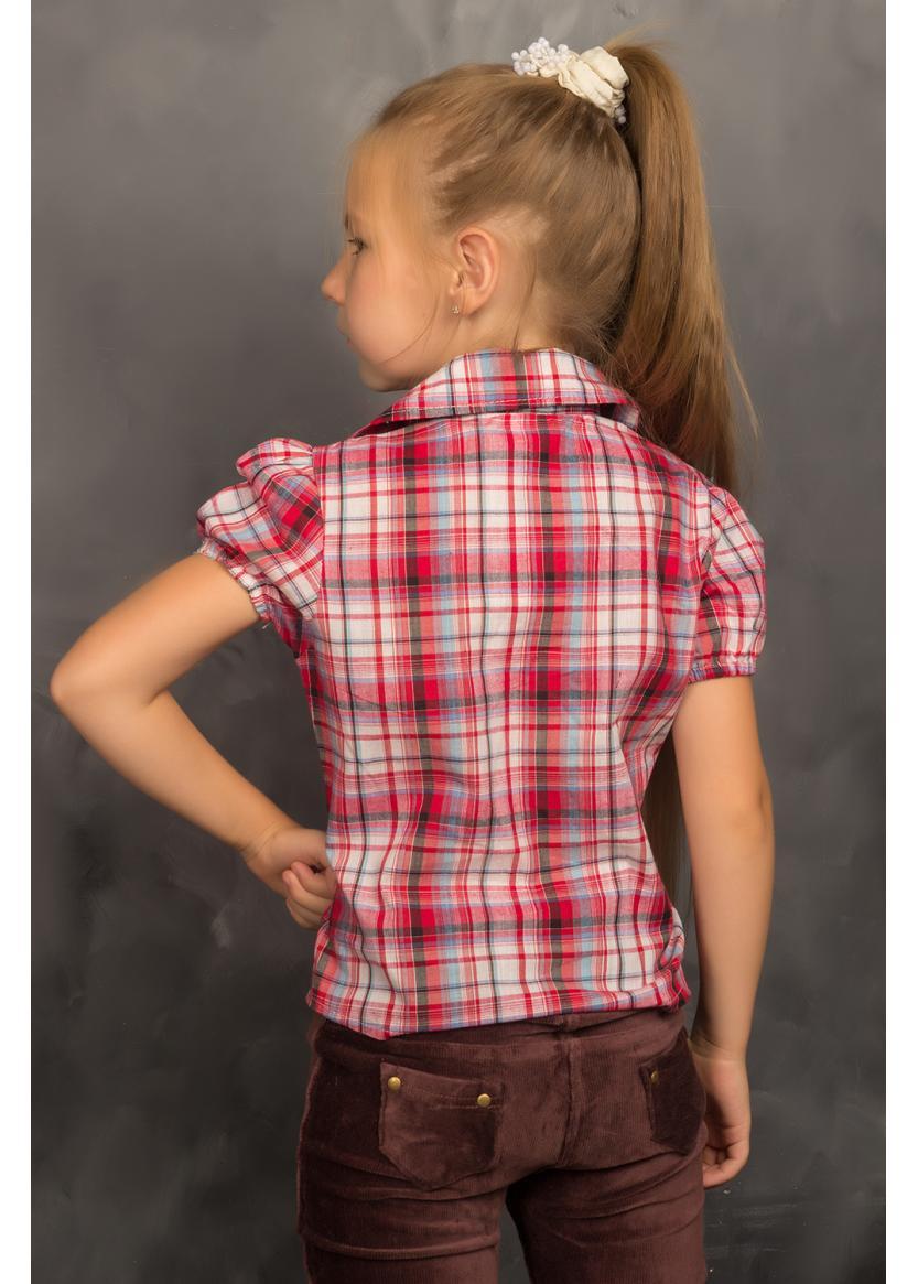 Рубашка Кантри, красный
