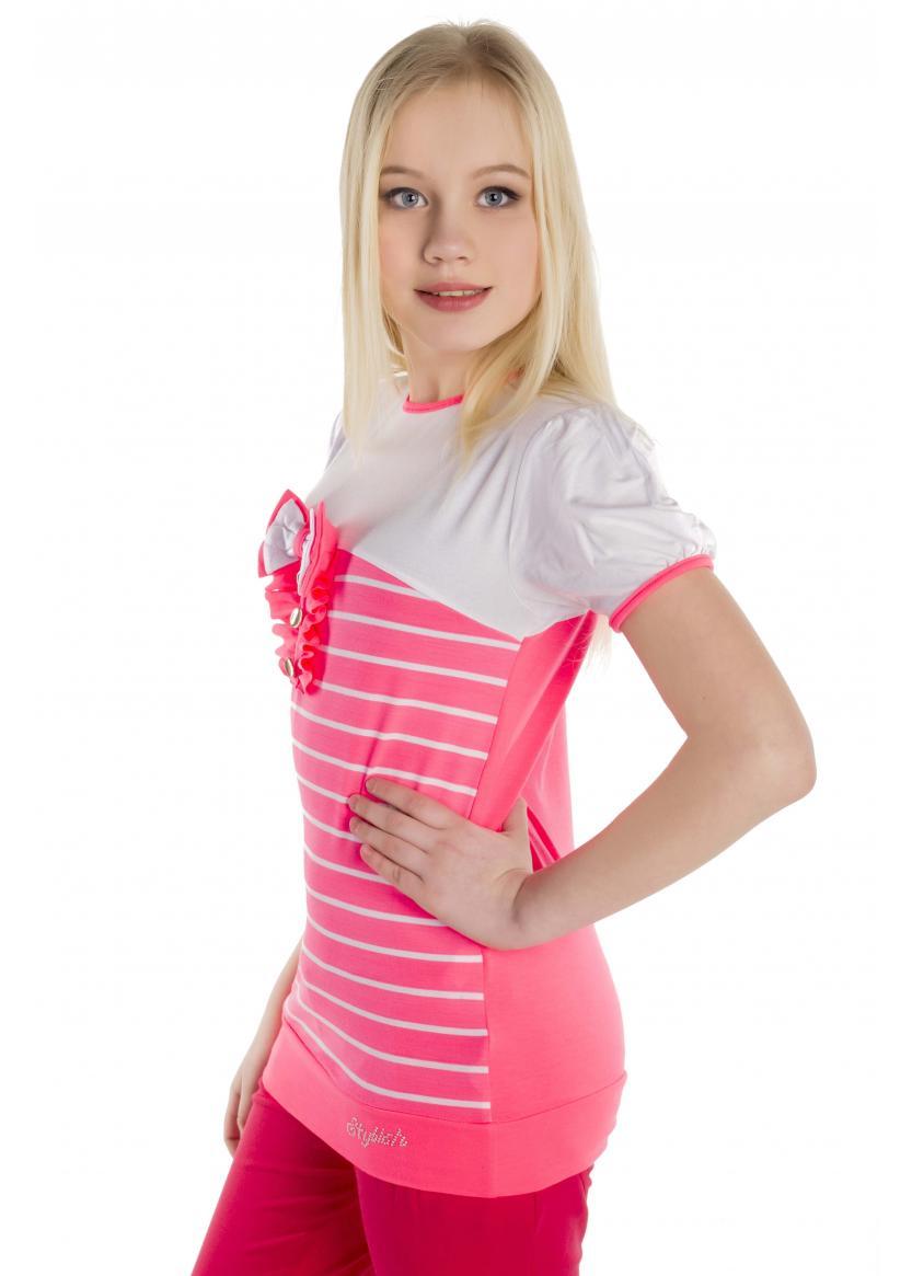 Туника Вояж, розовый